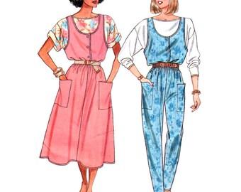 Butterick Sewing Pattern 3742 Misses' Jumper, Jumpsuit, Top  Size:  6-8-10-12-14  Uncut