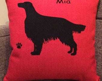Personalised Irish Setter Cushion