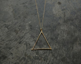 Golden Equilateral Necklace