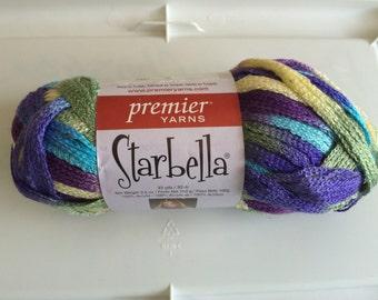 Premier Yarns Starbella Ruffle Yarn, Wild Hydrangeas