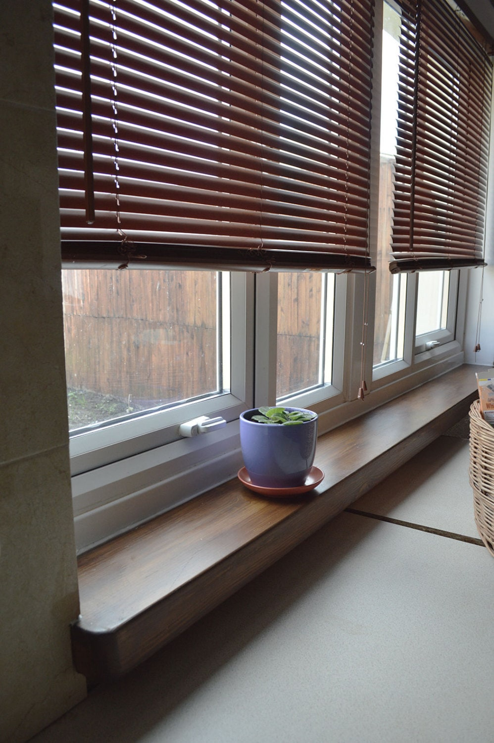 hand made oak window sill shelf like your own length and 12. Black Bedroom Furniture Sets. Home Design Ideas