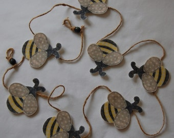Set of Bee Bunting - 1.5metres long