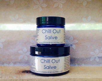 Organic Lavender Sleep Salve, Insomnia, Sleep Aid, Calming Salve, Stress Relief with Chamomile