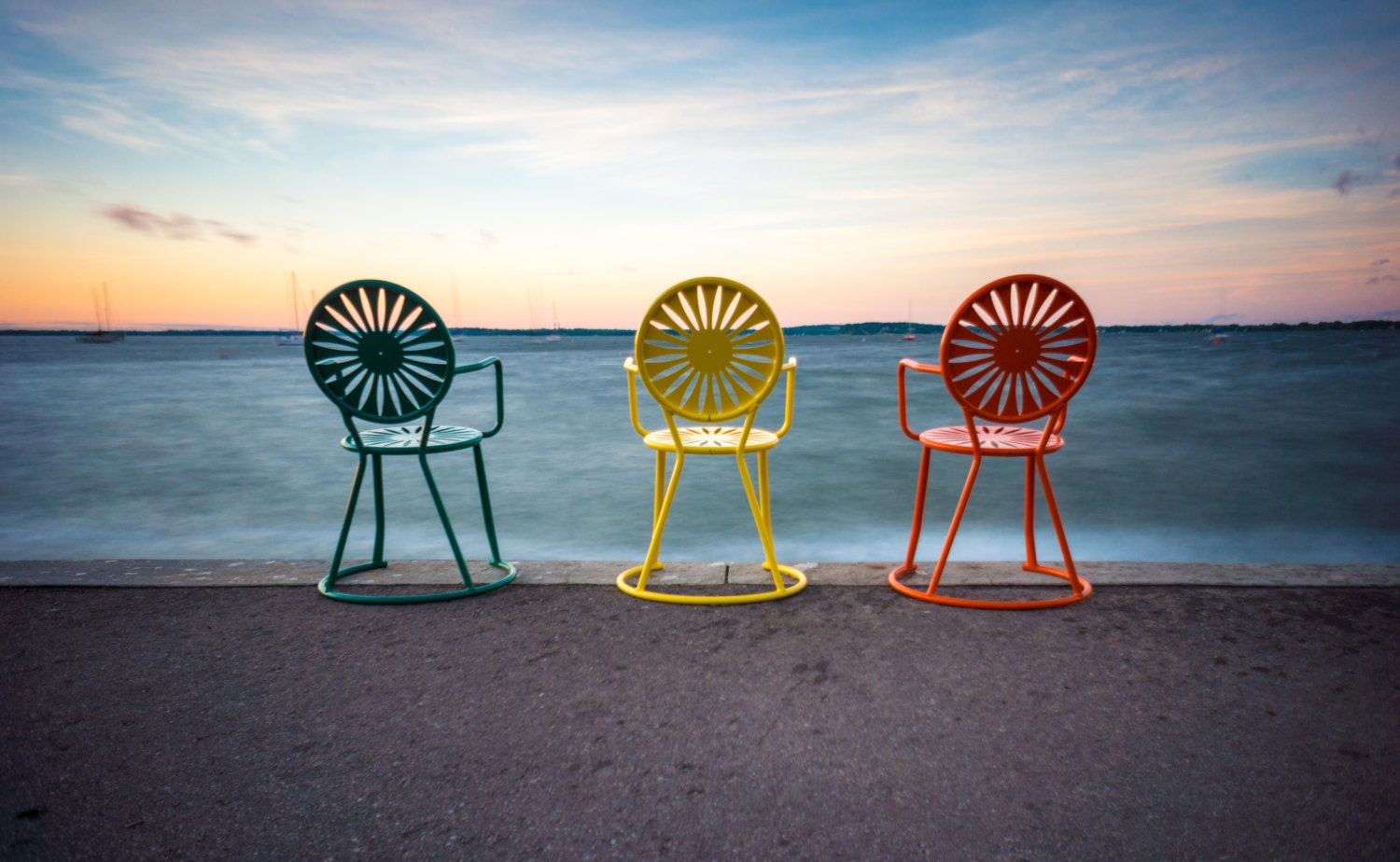 Memorial Union Terrace Chairs At Sunset University Of - Furniture madison wi