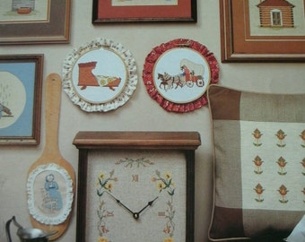 Colonial Charms for Beginners Counted Cross Stitch Designs by ShariAne Designs B249 MINT CONDITION Dated 1983