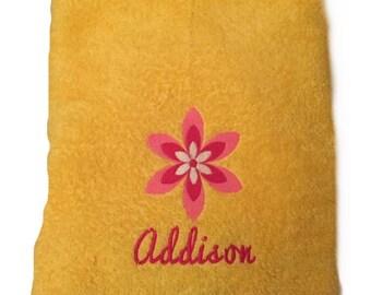 Personalized Bath Towels