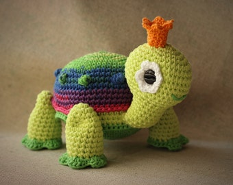 PDF PATTERN - Turtle Princess