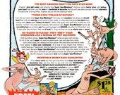 Sea Monkeys-  Vintage  comic book ad as a digitally restored print