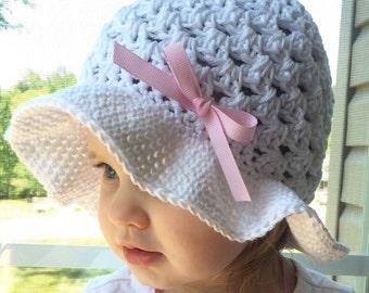 Lightweight Crochet Sun Hat