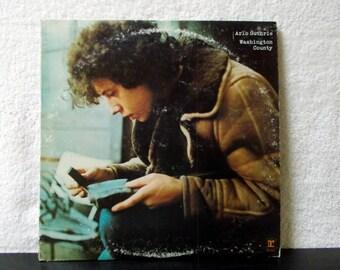 Arlo Guthrie- Washington County. 1970 Reprise Records vintage vinyl LP 33 record album.