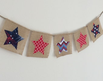 Patriotic Banner, 4th of July