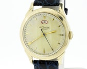 10K Gold Filled Le Coultre Automatic Wrist Watch