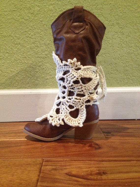 Free Crochet Patterns For Boot Covers : Crochet boot cover