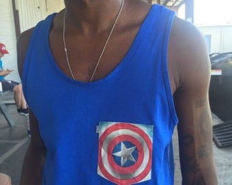 Captains sheild tank