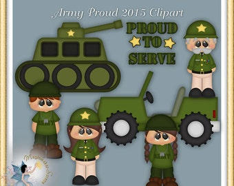 Soldier Clipart, Memorial Day, Veterans Day, Military, Army Proud