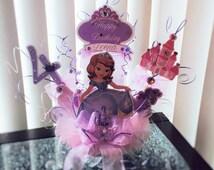 Sofia The First Birthday Cake Topper/ Disney