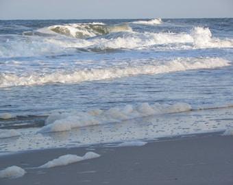 Seafoam on Carolina Beach {Instant Photo Download}