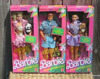 Barbie Animal Lovin'  Dolls - Pick a doll or pick them all