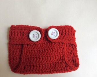 Crochet Mickey Mouse Inspired Diaper Cover