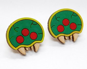 Metroid Stud Earrings
