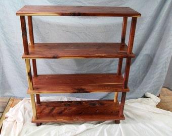 bookshelf, cedar bookshelf, wooden bookshelf, open bookshelf, office furniture, house warming gift,bedroom furniture, library furunitue