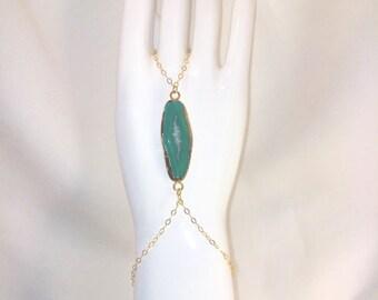 Agate hand chain/slave bracelet
