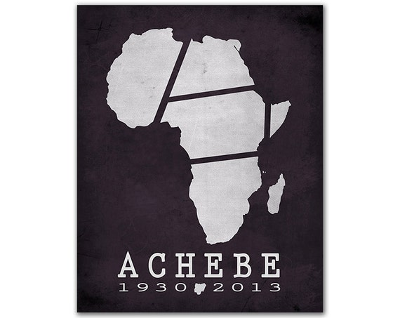 "the assimilation of the african continent in the book things fall apart by chinua achebe Chinua achebe's ""things fall apart"" colonialism versus tradition and destroyed the african world achebe achebe, chinua (1994) things fall apart."
