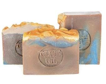 U pick Michigan blueberry soap - olive oil soap - Michigan made soap - handmade soaps - fruity soaps - scented soap bars - wholesale soap