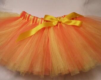 Yellow and Orange tutu, Orange and Yellow tutu, Sunshine tutu, baby tutu, infant tutu, toddler tutu, newborn tutu, birthday tutu, girl tutu
