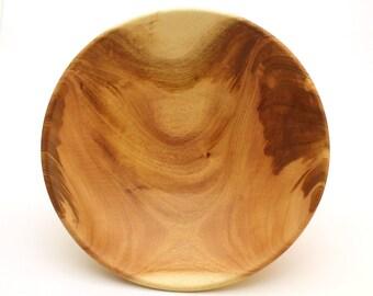 Extra Large Wooden bowl – Large Wood bowl – Tigerwood – Bread & fruit bowl – Salad bowl – Woodturning – Wooden gift – Hardwood
