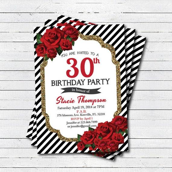 Invitacion De Cumple Aos De Mujer De 50 Pero Con Foto