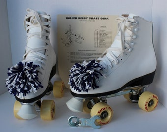 Vintage Roller Derby New in box Roller Skates with box, instructions, tool