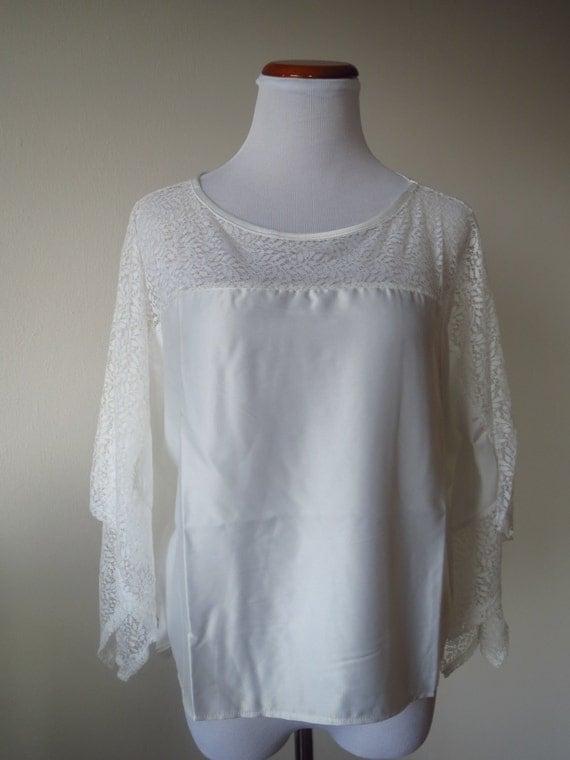 White Poncho Blouse 28