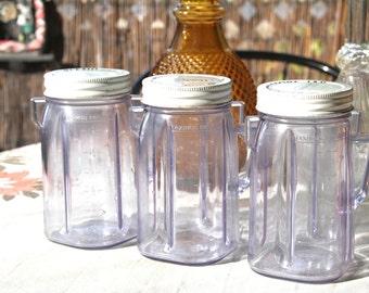 Vintage Sunbeam Blend and Store Jarintage Sunbeam Blend and Store Jars (3)