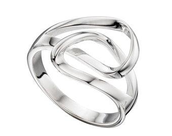 Adjustable Thumb Ring 925 hallmarked silver