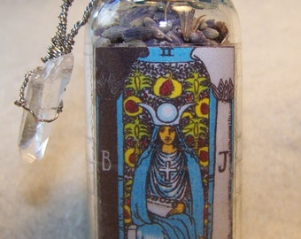 Tarot Divination Charm Bottle