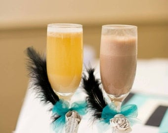 Personalized Custom Wedding Flutes SLS36743