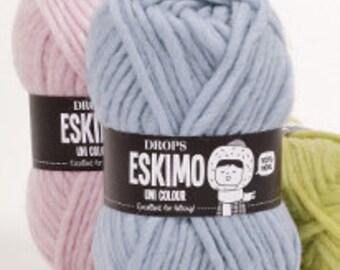 DROPS ESKIMO, Wool yarn