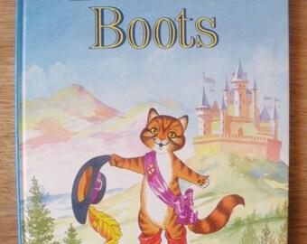Puss in Boots 1985 Grandreams Ltd children's book