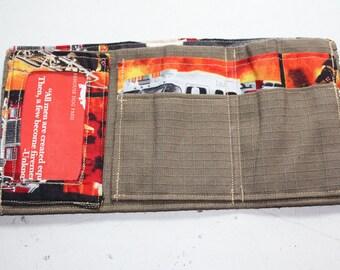 Retired Firefighter Gear Wallet