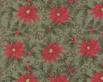 Under the Mistletoe by 3 Sisters for Moda Fabric. Mistletoe 44071 13.
