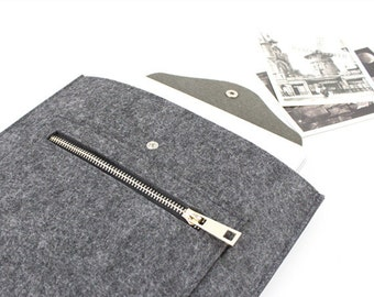 Felt Macbook sleeve Macbook Air case Macbook Pro sleeve Macbook 11 13 15 Air Pro Sleeve Macbook Pro Retina sleeve customized order SJ522