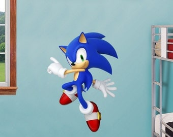 SONIC Decal Removable WALL STICKER