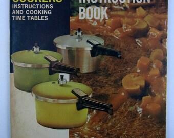 Presto  Pressure Cooker Recipes and Instruction Book