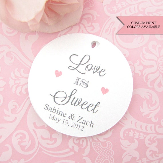 Love Is Sweet Wedding Gift Tags : Love Is Sweet tags (30) - Wedding favor tag - Honey jar tag - Wedding ...