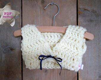 Crochet pattern Baby Bolero