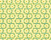 Notting Hill, Hexagons in Aquamarine by Joel Dewberry for Free Spirit Fabrics 4098