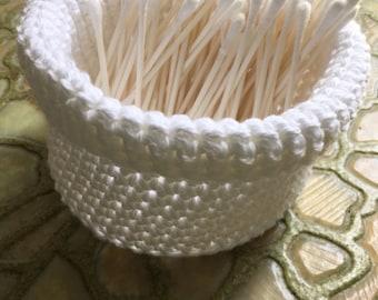 Personal crochet bucket