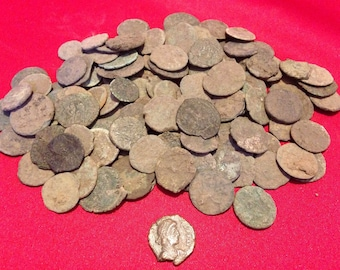 Ancient Roman Coins // High Grade // Uncleaned // 330 A.D. Constantine Era // A Part of History! // 1 COIN  Free Shipping