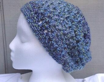 Girls crochet hat - Slouchy hat - Girls accessories - Childs crochet hat - Kids accessories